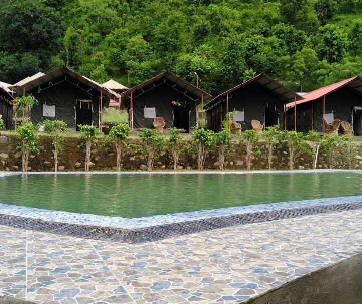 Luxury camping with rafting