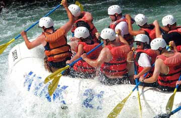 Kaudiyala to Rishikesh Rafting